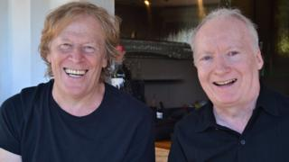 Pat Mills and Kevin O'Neill