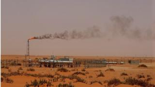 Aramco oil field