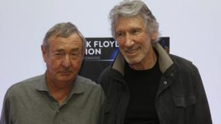 Pink Floyd's Nick Mason, alongside Roger Waters