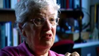 Astronomer Vera Rubin in interview to the BBC