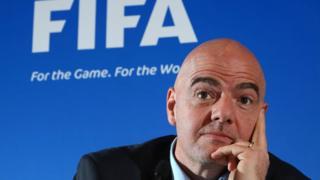 FIFA Başkanı Gianni Infantino