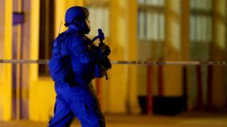 Policeman in Baton Rouge