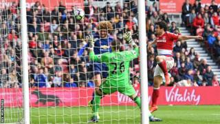 Manchester United yawatandika Middlesbrough 3-1