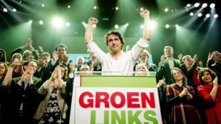 YeşilSol Parti lideri Jesse Klaver