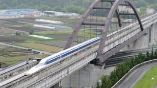 日本磁懸浮列車