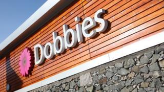 Dobbies signage