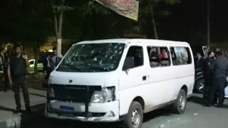 Egypt police killed in ambush near Cairo