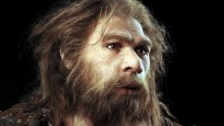 Neanderthal recreation