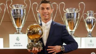 Cristiano Ronaldo, Ballon d'Or ile