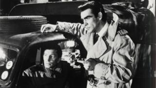 Sean Connery wears a Kingsway trench coat in the film Another Time - Another Place