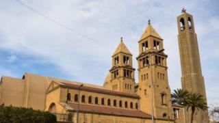 A Coptic Orthodox church in Egypt. File photo