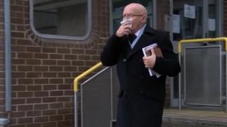 Dr Brian Harris at Merthyr Crown Court