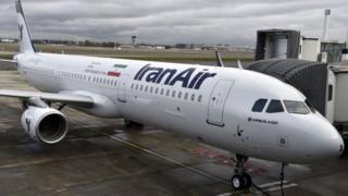 اولین هواپیمای ایرباس که در تولوز فرانسه به ایران تحویل داده شد