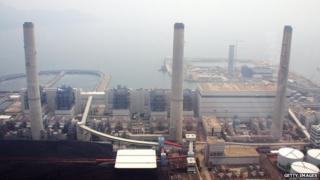 Hong Kong power plant