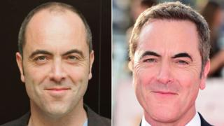James Nesbitt in 2005 (left) and 2016 (right)