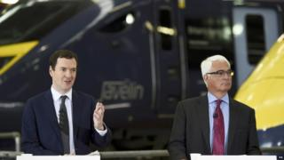 George Osborne and Alistair Darling