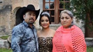 La familia Ibarra García invita en un video a los 15 años de Rubí