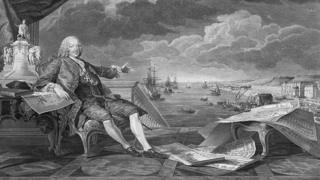 The Marquis of Pombal surveys the reconfiguration of Lisbon