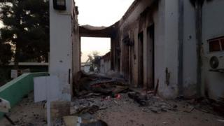 MSF hospital in Kunduz, 3 Oct 15
