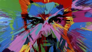 George Michael mural by Damien Hirst sells for $580,000