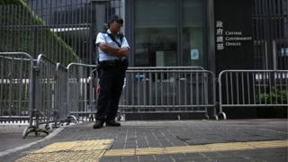HK security tight ahead of Chinese visit