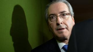 Brazil's Lower House Speaker Eduardo Cunha, who has been suspended by the country's Supreme Court