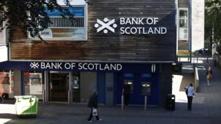 Bank of Scotland branch