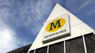 A Morrisons's sign