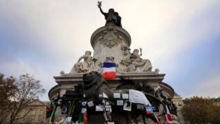 Statue of Marianne at Place de la Republique, Paris