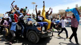 Mogadishu, Somalia -9 Februari 2017