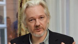 Julian Assange in 2014