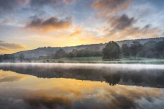 A Misty Sunrise in Chatsworth Park - Jude Gadd / www.igpoty.com