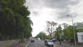 A8 in Edinburgh