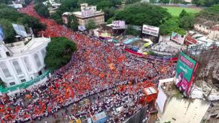Maratha march in Pune