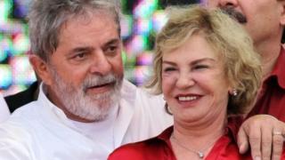 Marisa Leticia (kulia) alimsaidia mumewe Lula kuanzisha chama cha wafanyakazi