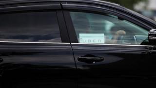 Uber car