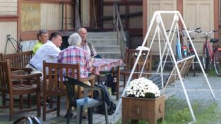 Finns at Pori unemployment centre