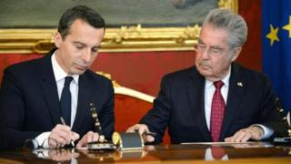 Austria leader coy on far-right ties