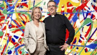 Mariella Frostrup and Reverend Richard Coles