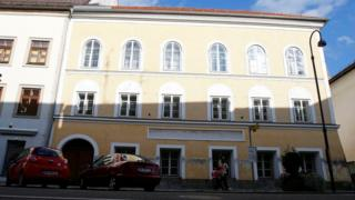 The house of in which Adolf Hitler was born is seen in Braunau am Inn, Austria, on 24 September 2012