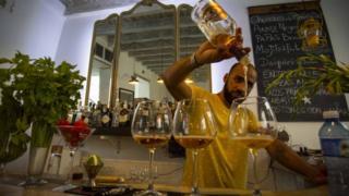 Bar in Havana, Cuba