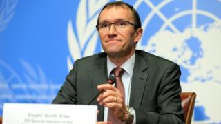 BM Kıbrıs Özel Temsilcisi Eide