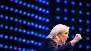 Marine Le Pen, 17 June