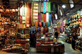Istanbul Grand Bazaar - file pic