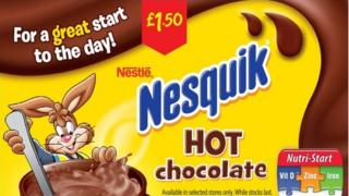 Banned Nesquik ad