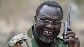 Riek Machar in 2014