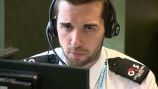 G4S employee working with Lincolnshire Police
