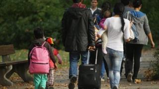 A Romanian family arrives in Berlin in September 2014