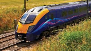 Edinburgh to London budget rail service