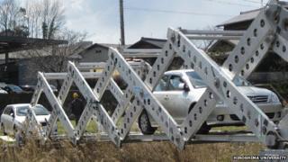 Scissors bridge